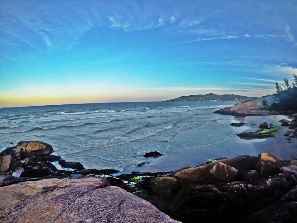 Foto praia garopaba