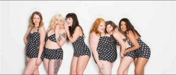 Diversidade da beleza feminina